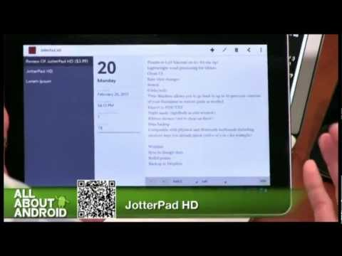Video of JotterPad HD (Legacy)