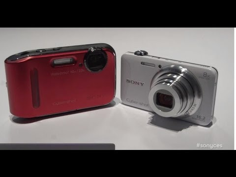 CES 2013: New Cyber-shot WX80 and TF1 Cameras (First Look & Demo)