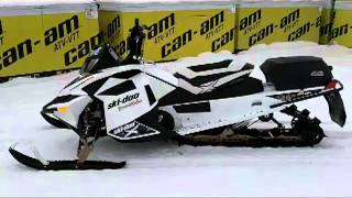 6. 2012 Skidoo Freeride 146  800 E-tech Customized