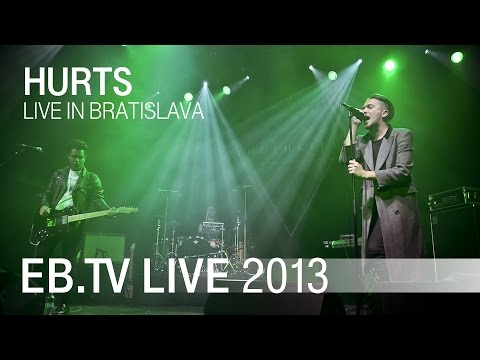 hurts - Watch HURTS perform