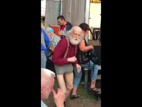 Funny Old Man Dance Sync'd