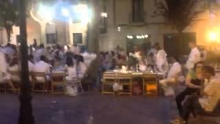 Aragosa Spain  City new picture : Festival of the White Knights, Zaragosa, Spain.