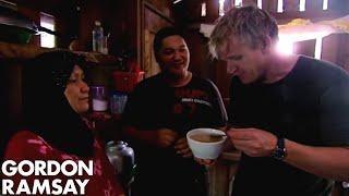 Gordon Ramsay Harvests Birds Nests From A Cave | Gordons Great Escape by Gordon Ramsay