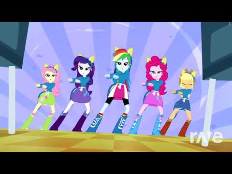 Equestria Girls Sync Night Of Nights - Cafeteria Song & Yu Nhng | RaveDJ