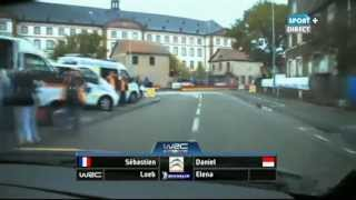 Haguenau France  City new picture : WRC France Alsace 2012 - SS19 Haguenau 1 (live TV)