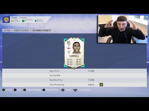 FIFA 19 | *MIN PRICE* ICON SNIPE | 450K PROFIT IN 1 SNIPE | SNIPING REACTIONS EP3