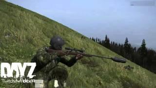 DayZ - 600m moving target kill :)