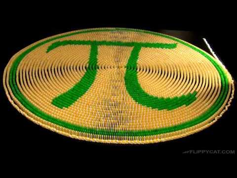 Happy Pi Day 314 Domino Spiral