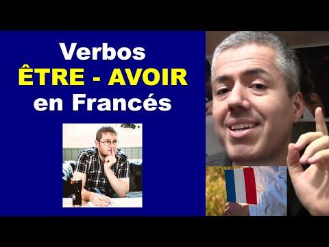Verbos ÊTRE, AVOIR en Francés / Curso de Francés Básico Clase 5 Francés