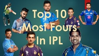 Video TOP 10 | Most Fours hitted by batsman in IPL 2017 MP3, 3GP, MP4, WEBM, AVI, FLV Oktober 2018