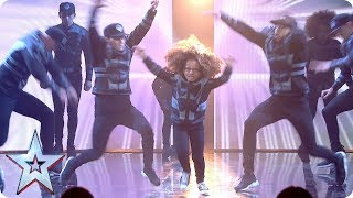 BGT legends Diversity return with an epic routine, complete with mini-mes, flying and lots of flips! Watch it above now… See more from Britain's Got Talent at http://itv.com/talentSUBSCRIBE: http://bit.ly/BGTsubFacebook: http://www.facebook.com/BGTTwitter: http://twitter.com/BGT