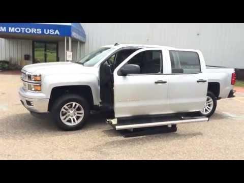 2014 Chevrolet Silverado Crew Cab V8 Wheelchair Truck Van SUV Conversions!  Call 1-800-625-6335