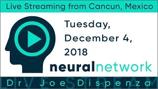 Join us for the next Live Stream from Cancun - Dec 4