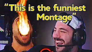 Nickmercs Reacts to Our Montage
