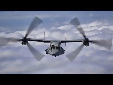 U.S. Marine Corps MV-22B Osprey...