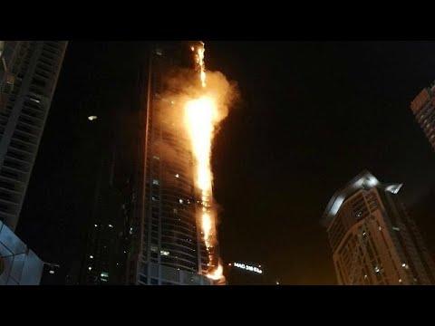 Ντουμπάι : Εκκένωση ουρανοξύστη από μεγάλη πυρκαγιά