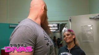 Natalya is feeling the pressure: Total Divas, August 25, 2015