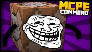 MCPE - Troll Blocks with Command Blocks! (Impossible bed, deadly block & more!)