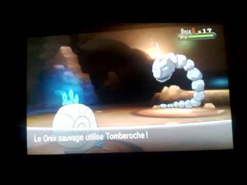 comment trouver eclate roc pokemon y