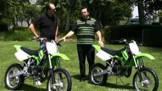 2. Quick Look - 2009 Kawasaki KX100 and KX85