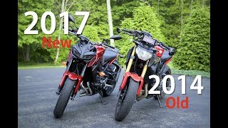 3. 2017 Fz09 Vs 2014 Fz09: Which Is BETTER?