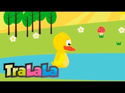Cântece pentru copii - O ratusca sta pe lac