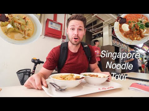It's All About MEE + PRAWN Noodles + RARE Singapore Noodles: SINGAPORE NOODLE TOUR