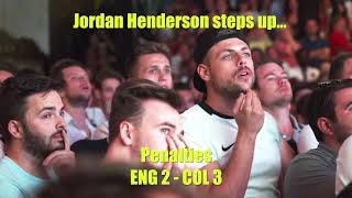 Video World Cup 2018 England vs Colombia - fans amazing reactions MP3, 3GP, MP4, WEBM, AVI, FLV Desember 2018