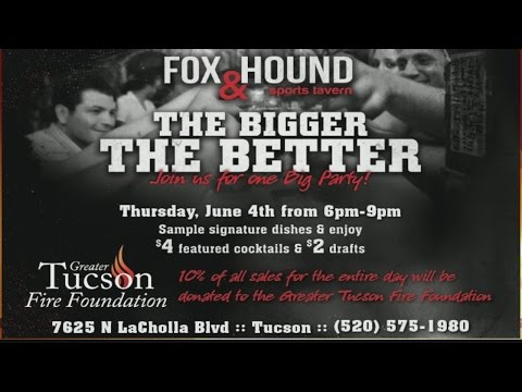 Greater Tucson Fire Foundation - Fundraiser at the Fox and Hound