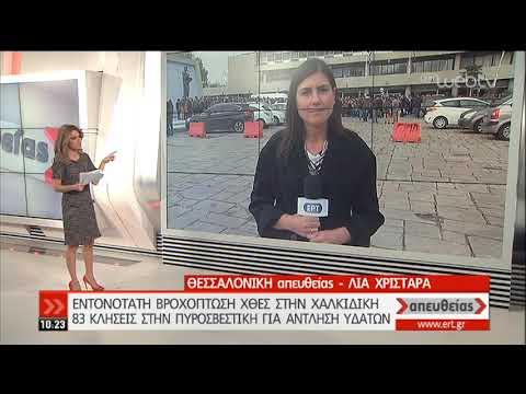 Χαλκιδική: Οδηγός ταξί παρασύρθηκε με το όχημά του στη θάλασσα | 21/11/2019 | ΕΡΤ