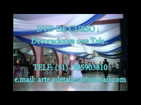 decoraciones con tela