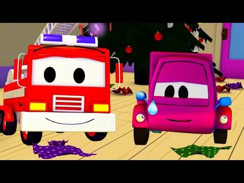 Video La Super Patrulla en Auto City - Suzy y los regalos robados   Dibujos animados de carros download in MP3, 3GP, MP4, WEBM, AVI, FLV January 2017