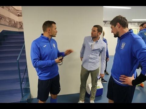 Andriy Shevchenko - the Day before the Match Croatia-Ukraine in Zagreb