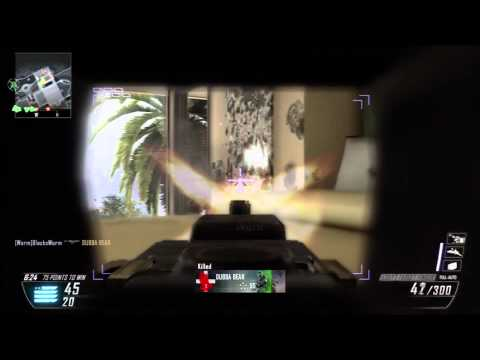 Cod Black Ops 2 Camping on Raid Wormstyle