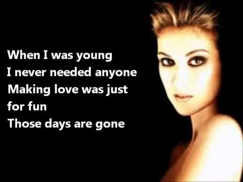 Celine Dion - All by Myself [Original Music]