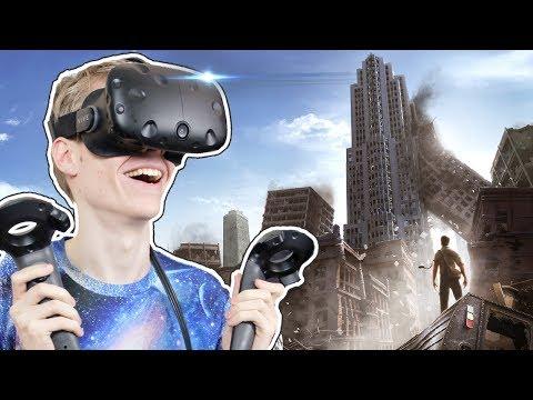 EARTHQUAKE SIMULATION IN VIRTUAL REALITY!  | Earthquake Simulator VR (HTC Vive Gameplay)