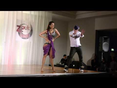 Pedrinho Mattos & Linda Urgosova Brazilian Zouk Dance Show, 3rd London Zoukfest Congress, Feb 2015