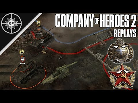 Focusing On The Command Points - Company Of Heroes 2 Replays #18