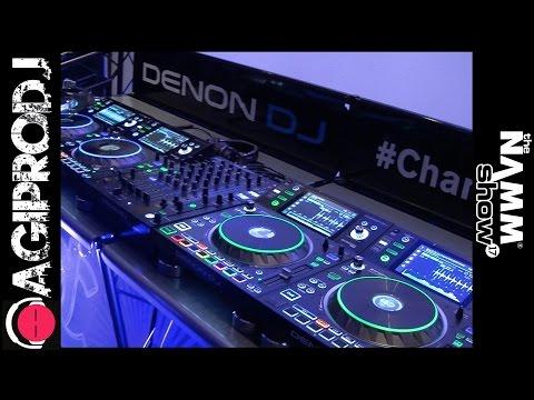 DENON DJ SC5000 PRIME Professional Media Player | NAMM.17 - agiprodj.com