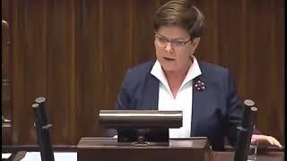 """Plująca jadem na Unię Europejską i nagle Beata Szydło jedzie do """"Brukselskich elit"""""""
