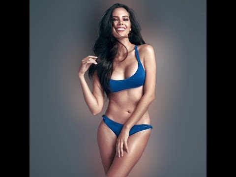BTS | Catriona Gray swimsuit Photoshootings for Binibining Philipinas! So hot!