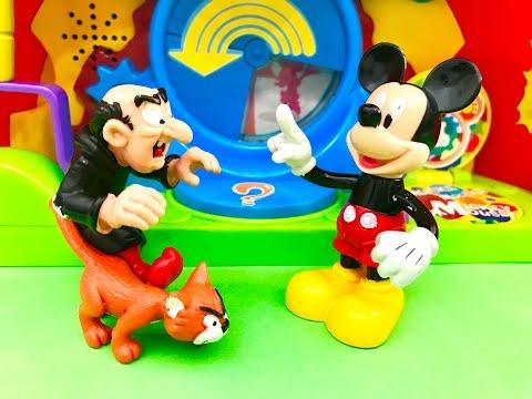 Mickey Mouse auf DEUTSCH - Gargamel (Schlümpfe) hat Hunger und sucht nach Essen