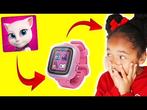 Talking ANGELA m'appelle - Elle envoie la MONTRE MAGIQUE à VERITY !!