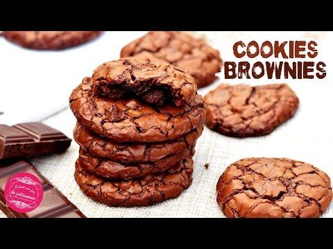 Les COOKIES BROWNIES au CHOCOLAT, recette FACILE, RAPIDE et délicieuse !!