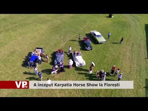 A început Karpatia Horse Show la Florești