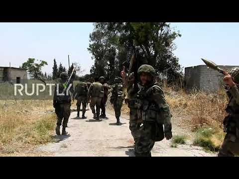 Syria: SAA launches counter-offensive and recaptures towns in north-western Hama