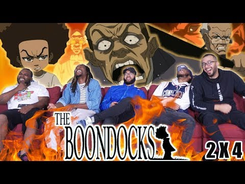 "The boondocks 2 x 4 Reaction! "" Stinkmeener Strikes Back"""