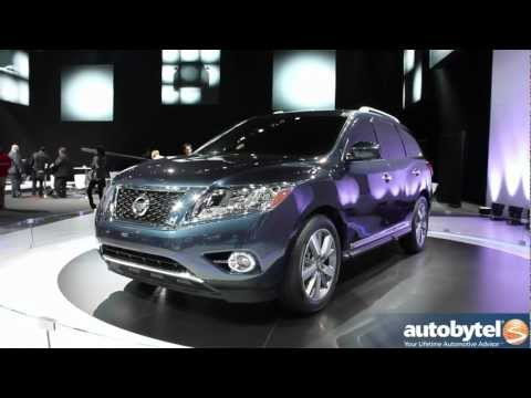 Nissan Pathfinder Concept at the 2012 Detroit Auto Show - Video