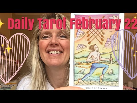 Love messages - Daily Tarot February 22,  2018  A Message Coming In!
