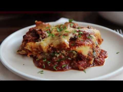 Pasta Recipes – How to Make Deep Dish Lasagna